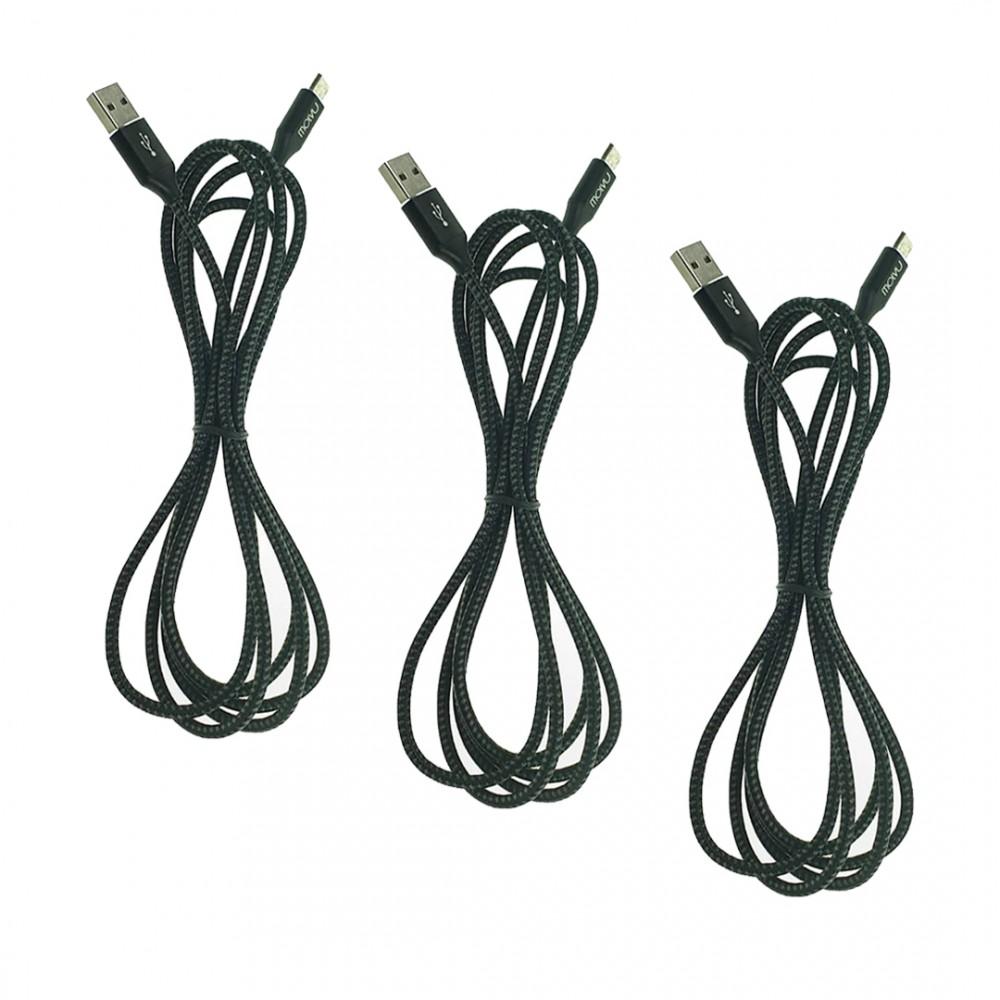 Trío de Cables USB Tipo C