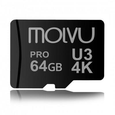Memoria MicroSD 64GB Pro UHS U3