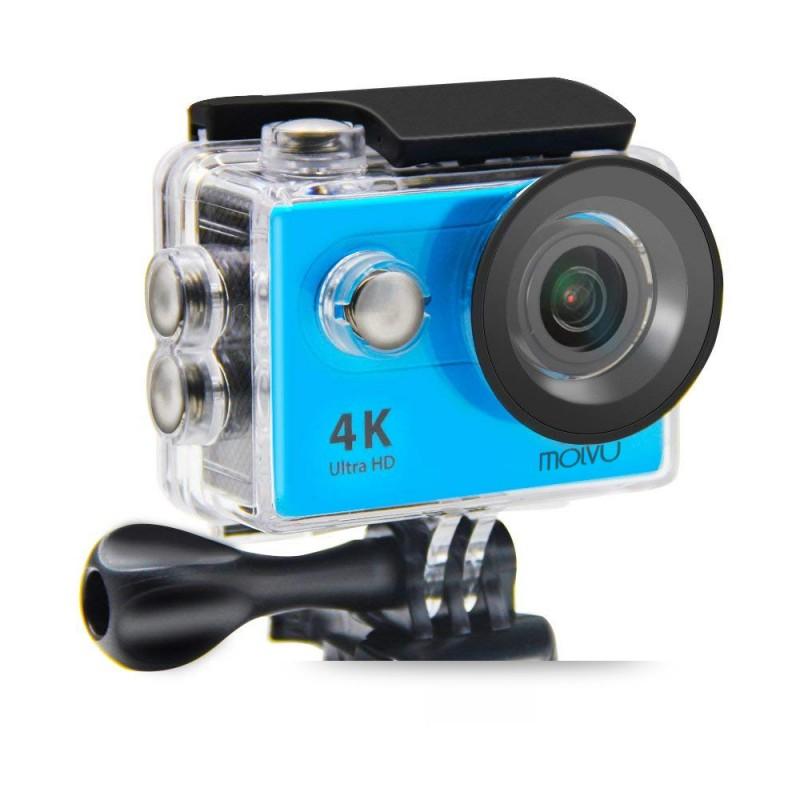 Cámara deportiva 4K M3 azul