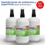 Desinfectante con alcohol en spray 500ml (3  PACK)