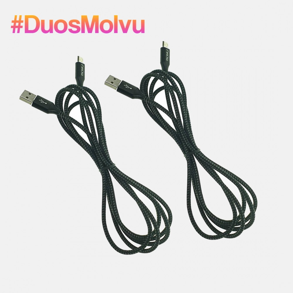 Duo de Cables USB Tipo C