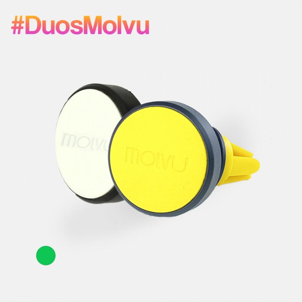 Duo de sujetadores AC blanco y amarillo