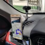Sujetador magnético windshield