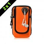 Armpack deportivo para brazo Naranja