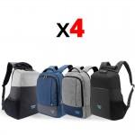 Colección 4 mochilas