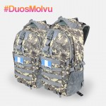 Duo Mochila M021 Gris Pixel