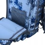 Mochila M090 Azul Pixel