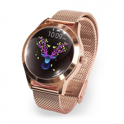Reloj inteligente T2 rose gold