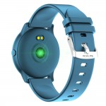 Reloj inteligente T5 Azul Metálico