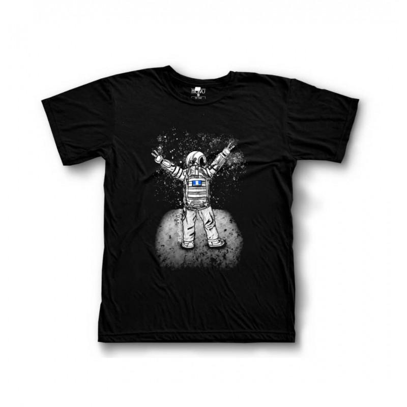 T-Shirt LaPoseMolvu en el Espacio