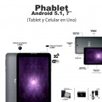 "Tablet PC 7"" 3G M73G3"